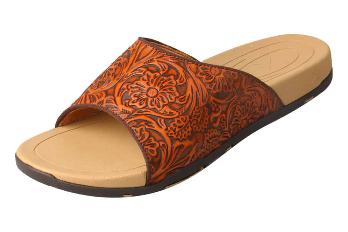 twisted x womens tooled sandals sheplers cowgirl magazine