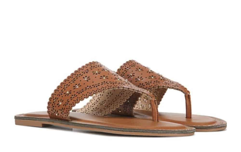 wowo womens rhonda flip flop sandal famous footwear cowgirl magazine