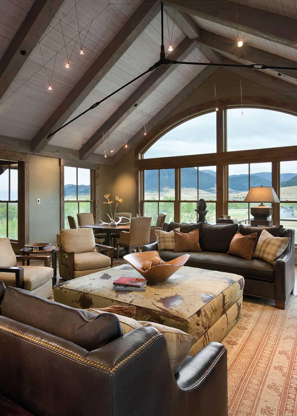 rustic montana home design cowgirl magazine