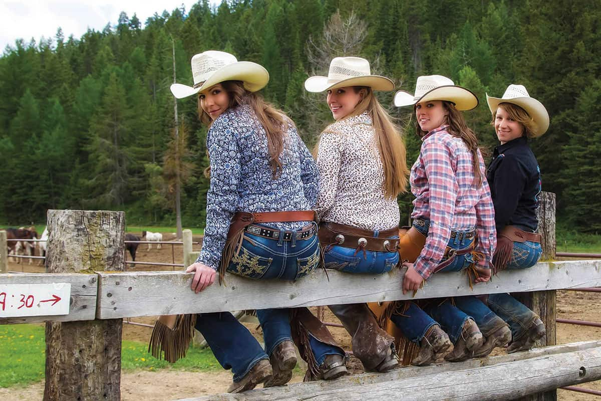 bar w guest ranch whitefish montana cowgirl magazine
