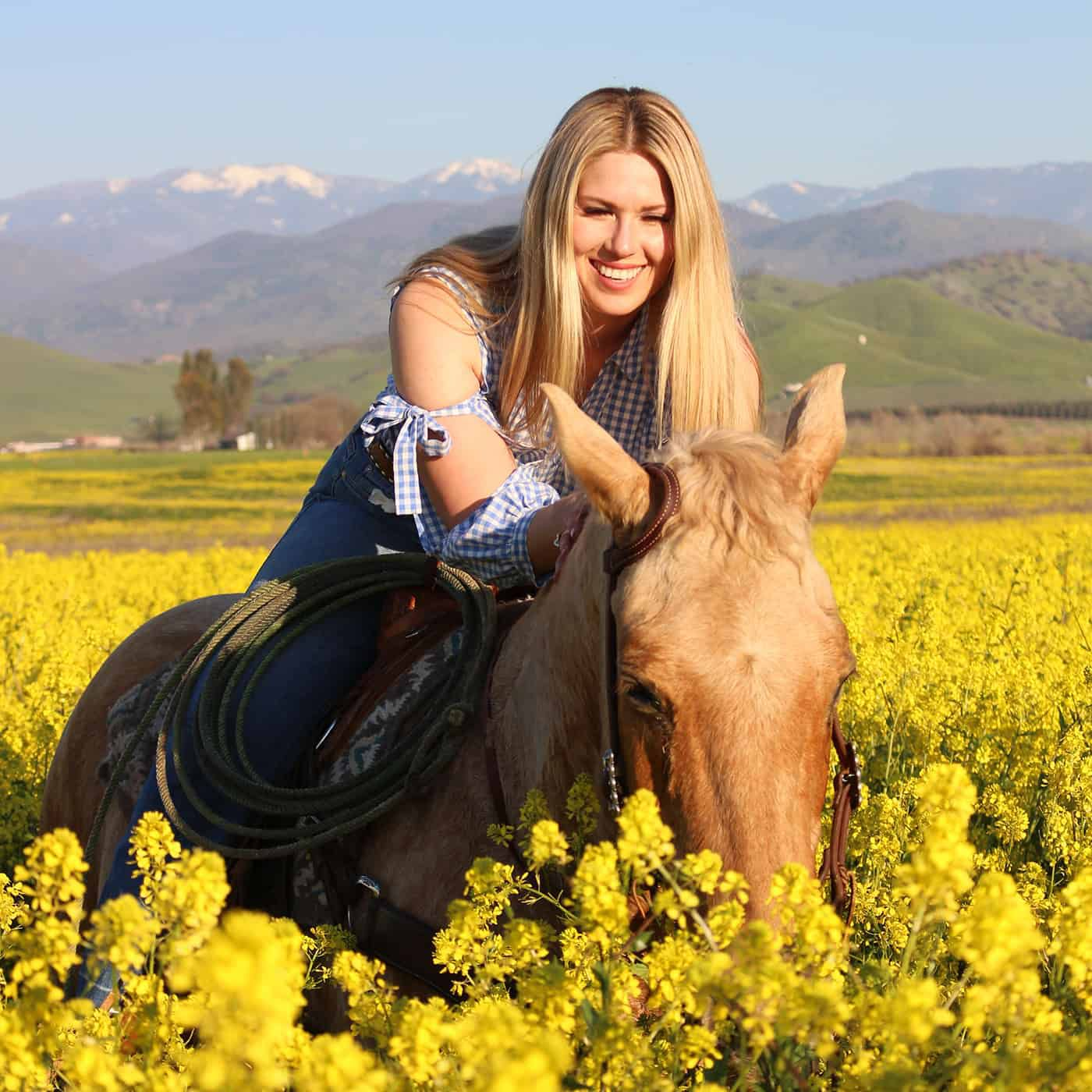 Amy Witt is a Cowgirl with heart!