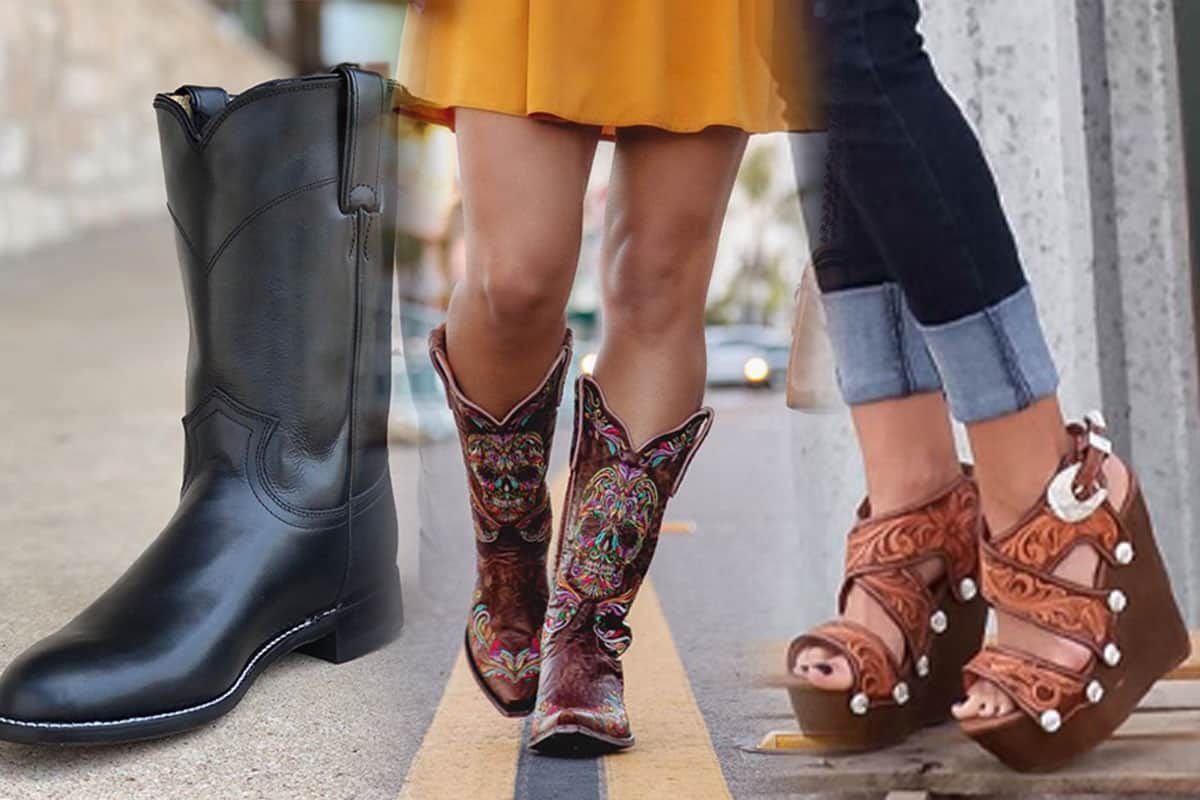 famous footwear Jason Becker custom leather cowboy boots cowgirl magazine