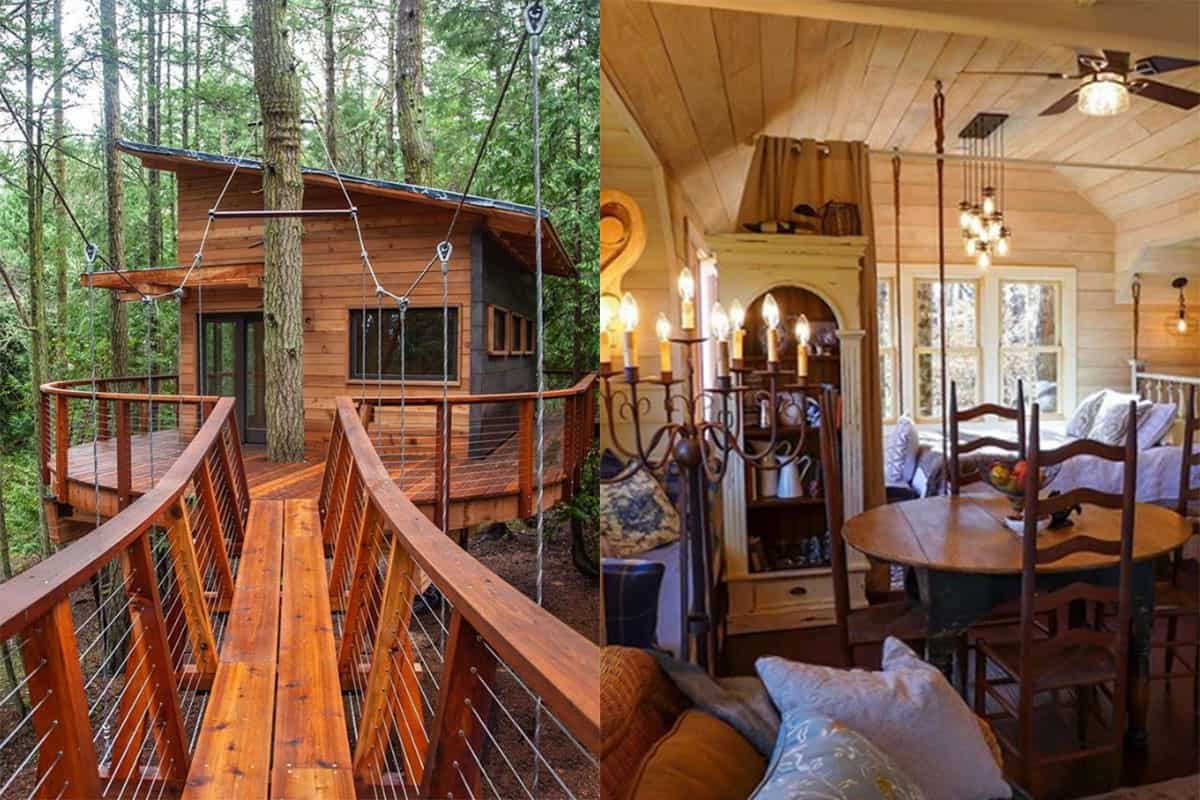 treehouse cabins cowgirl magazine