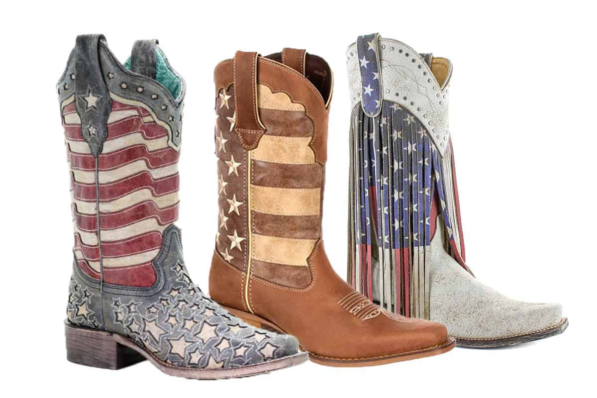 american flag boots cowgirl magazine