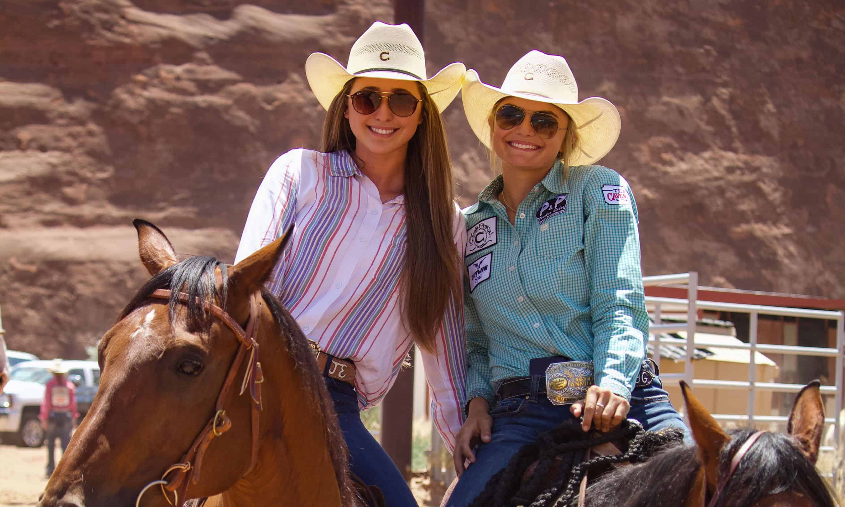Bradi and Jordi are members of the Cavender's Youth Rodeo Team and both striving to 2019 state titles