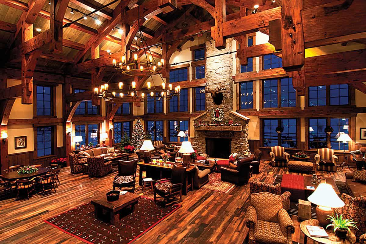 great room vista verde ranch steamboat springs colorado cowgirl magazine