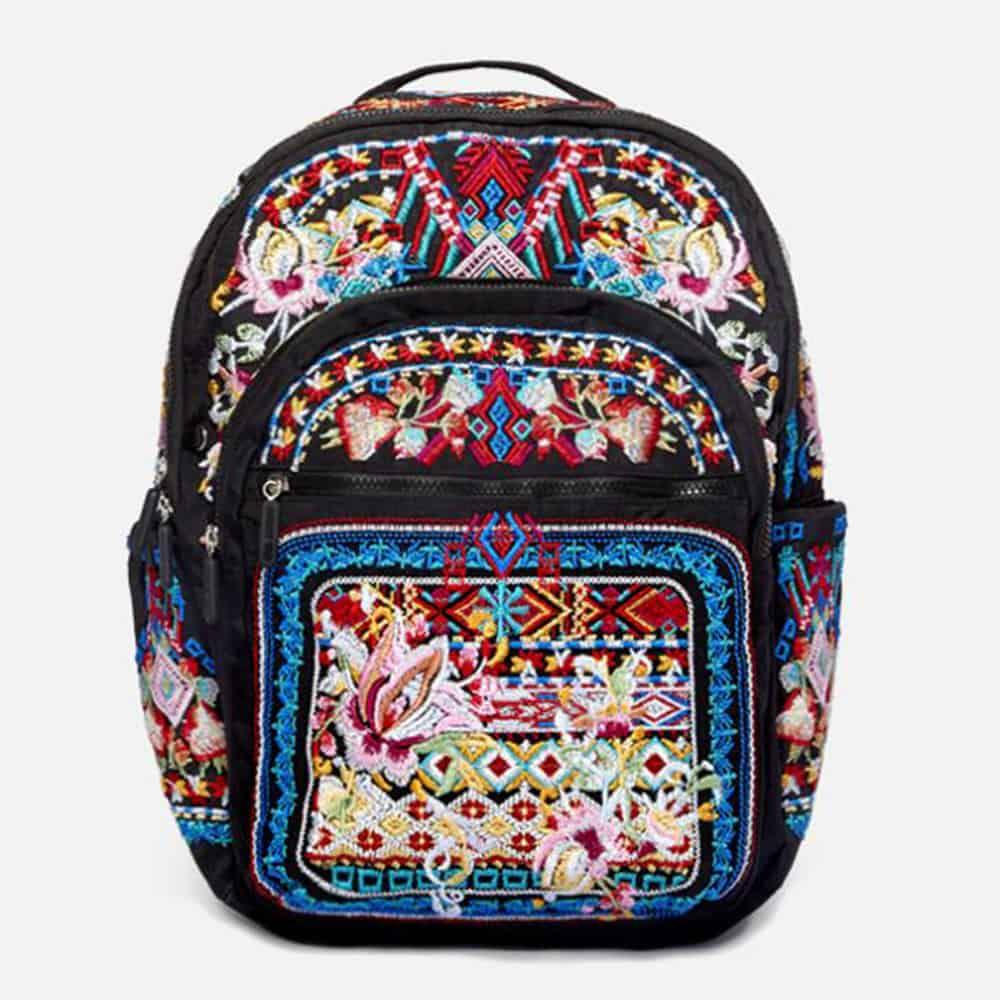 Braeden Backpack, $250, Johnny Was