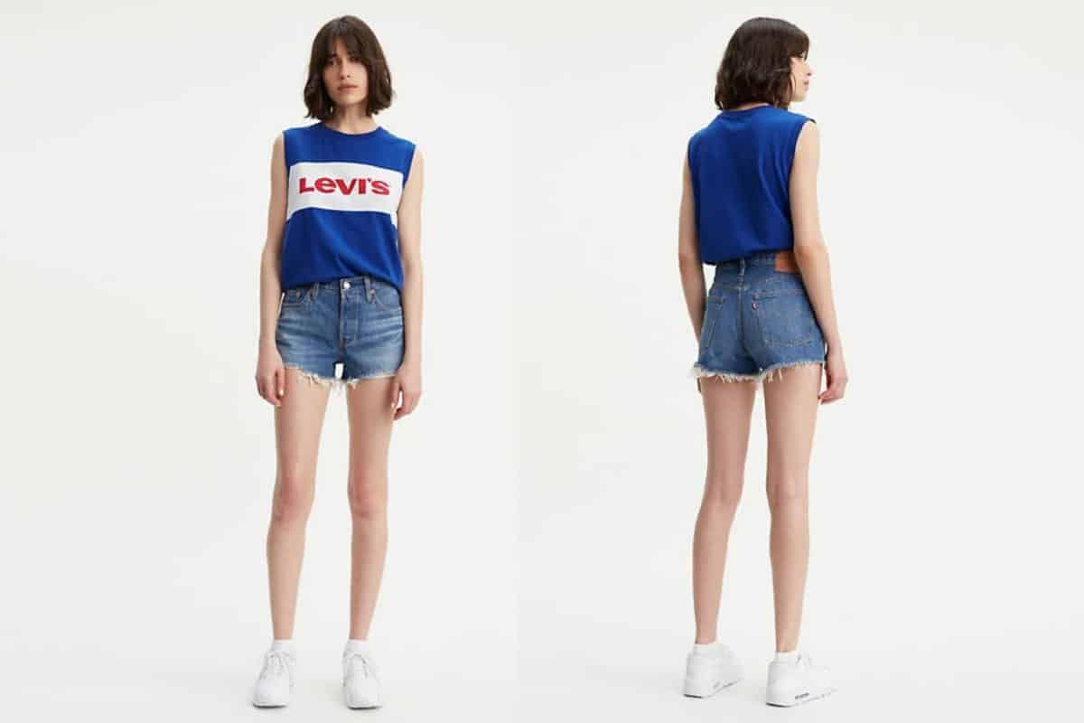 Levi's shorts Levis Levi denim jeans jean cowgirl magazine