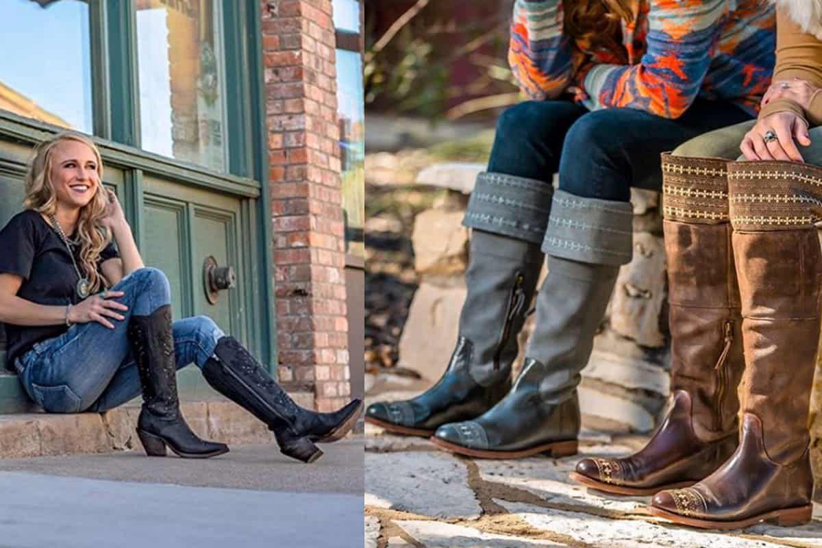reba tall tops Justin boots Justin brands, reba by Justin cowgirl magazine