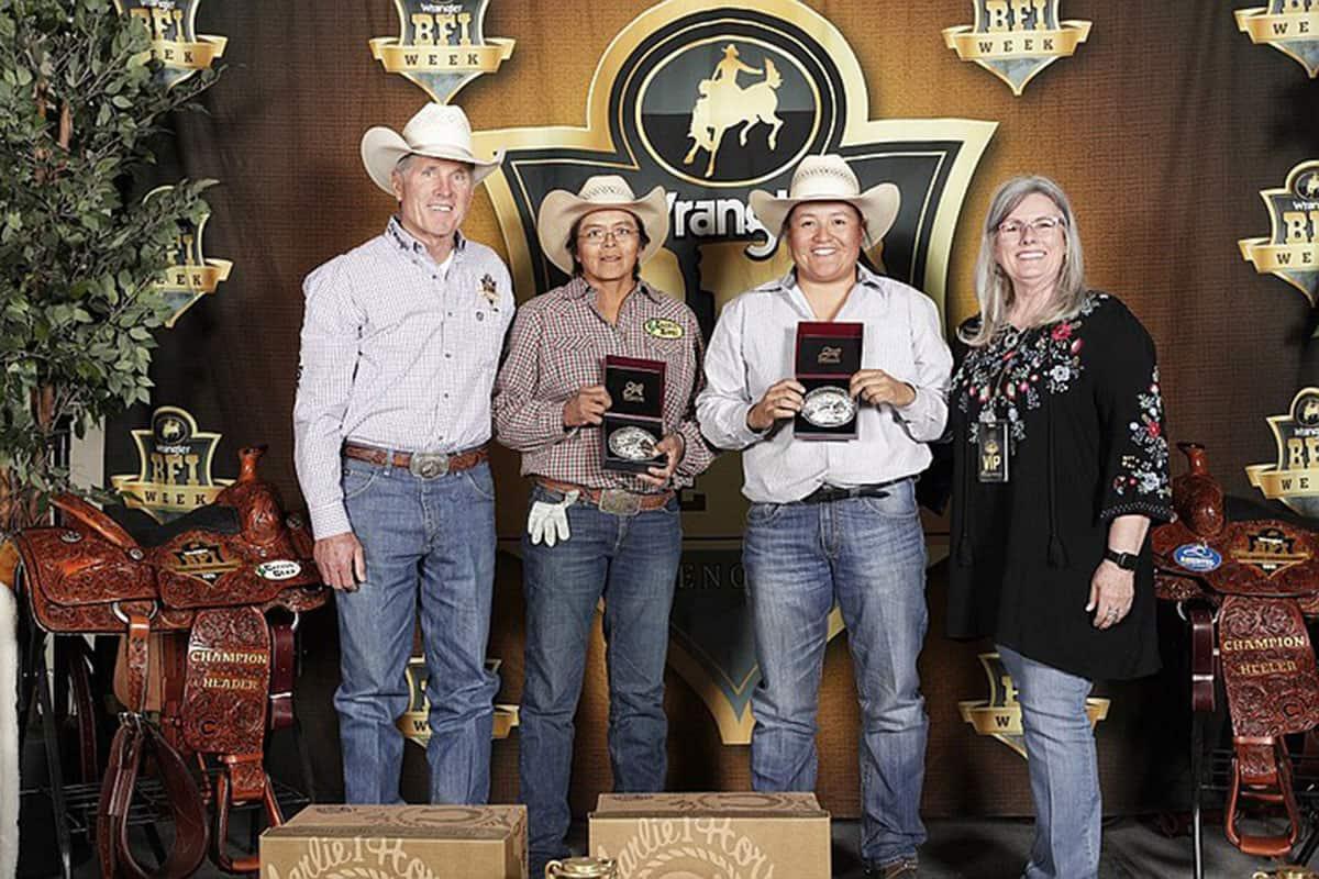 debbie robbins danielle lowman charlie 1 horse rodeo challenge navajo cowgirl magazine
