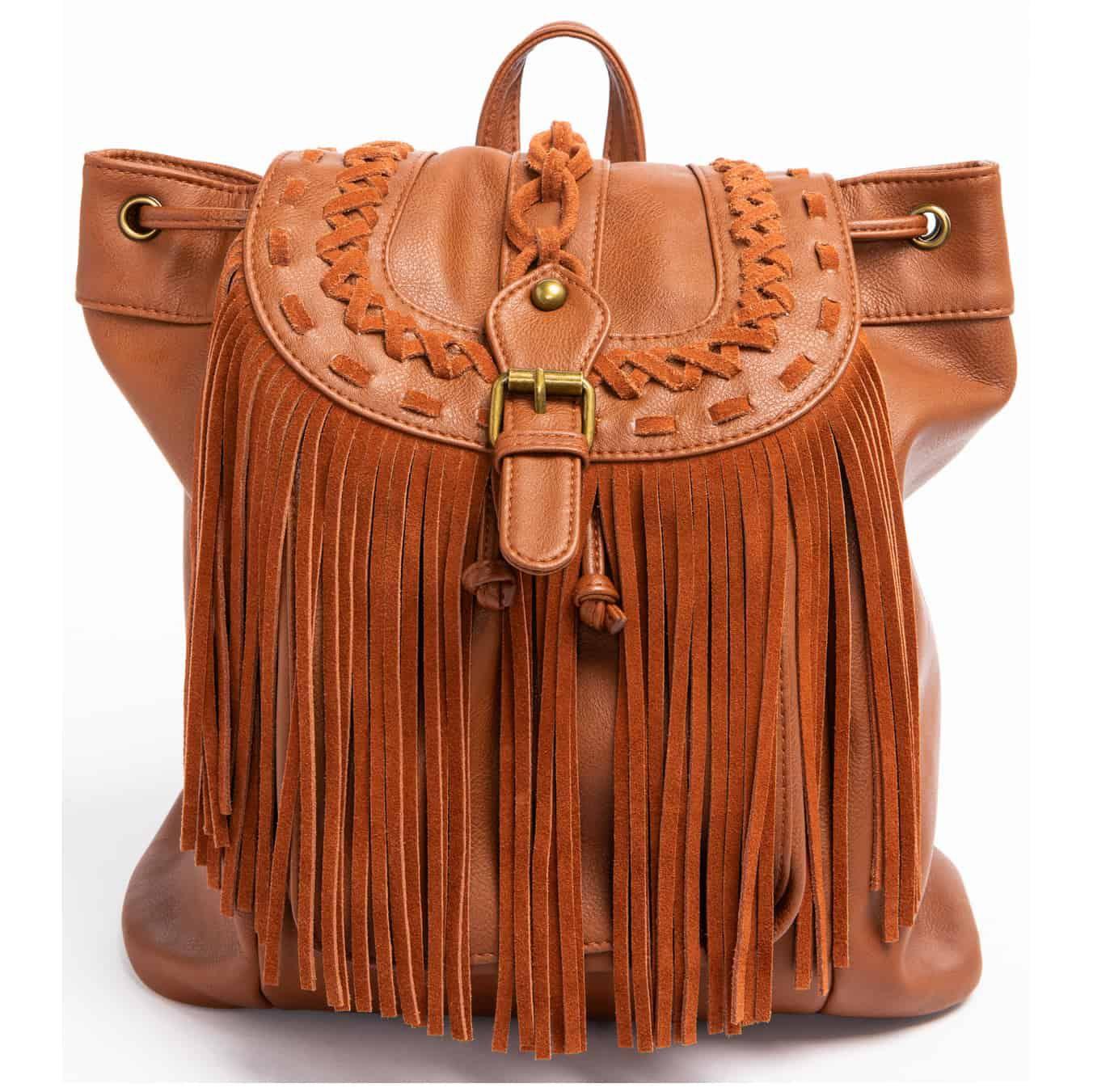 Shyanne Women's Fringe Backpack, $64.99