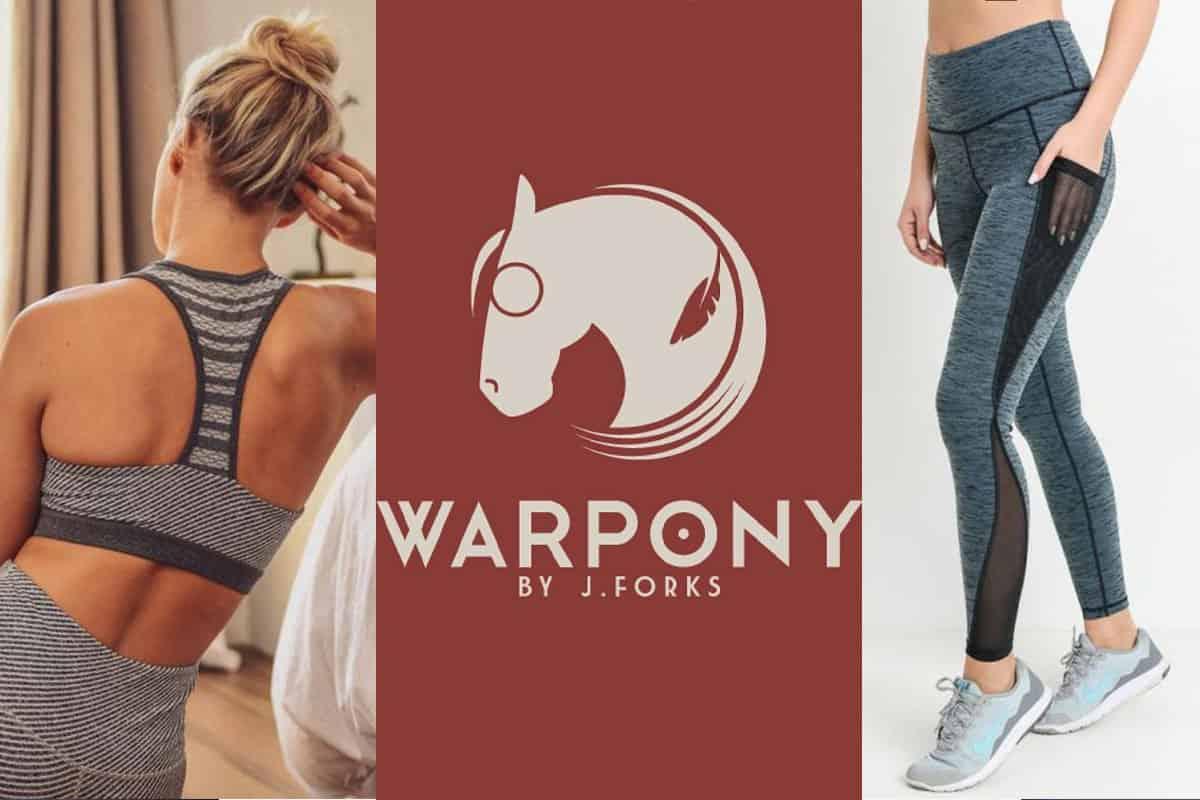 warpony war pony athleticwear athletic wear athleisure work out clothes j forks j.forks Jenny Forks cowgirl magazine