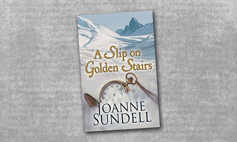a slip on golden stairs joanne sundell cowgirl magazine