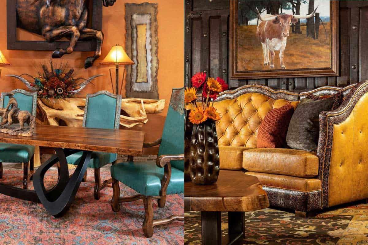 adobe interiors pop of color