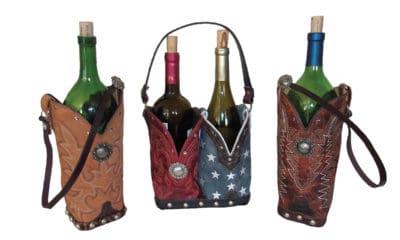 chris thompson bag wine bottle holder cowgirl magazine