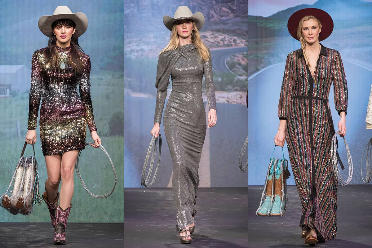 dallas market center western trends fashion show thomas garza runway photography cowgirl magazine