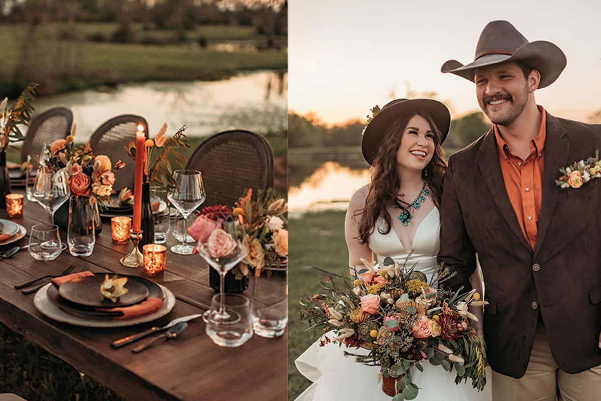 autumn wedding cowgirl magazine