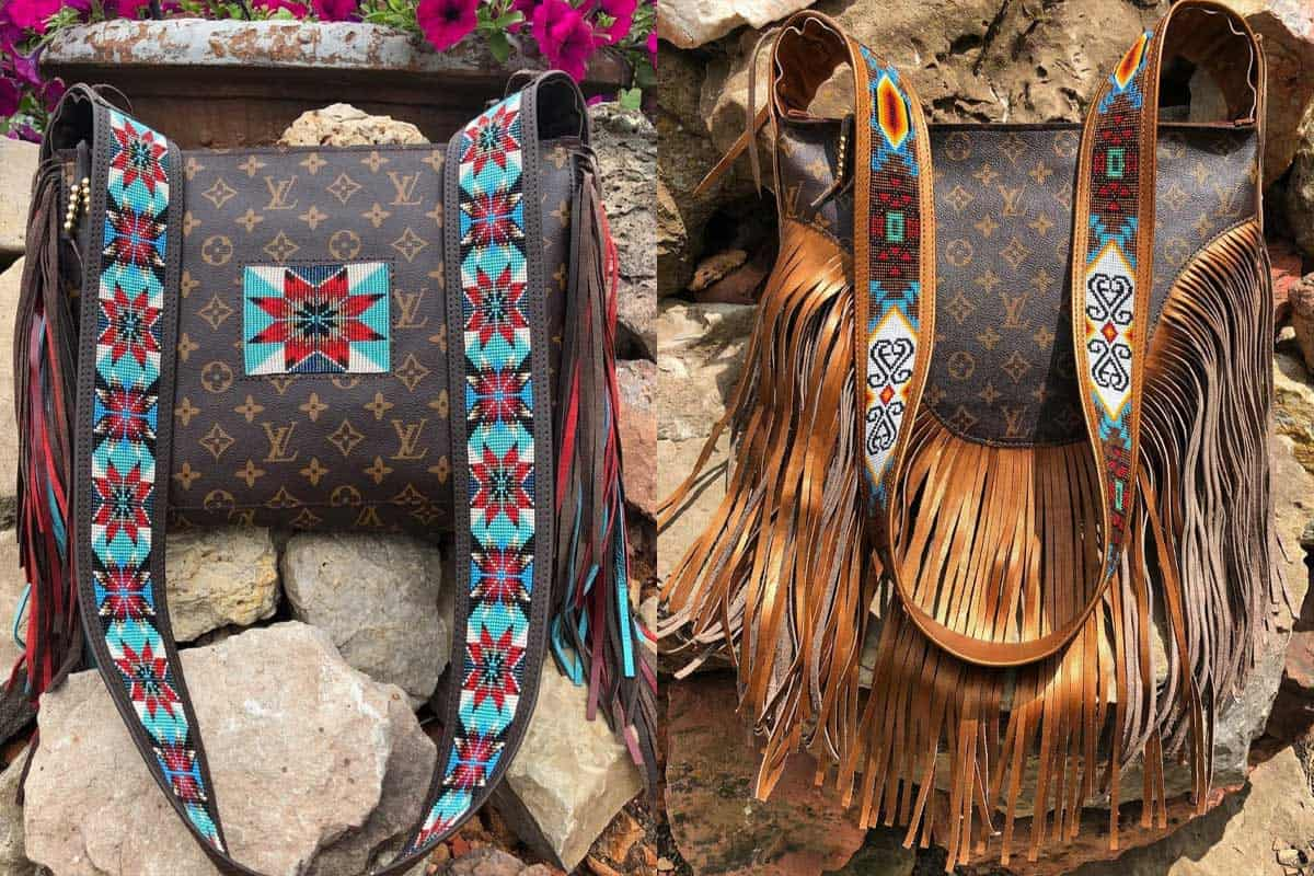louie Vuitton beaded love jessie longbrake cowgirl magazine
