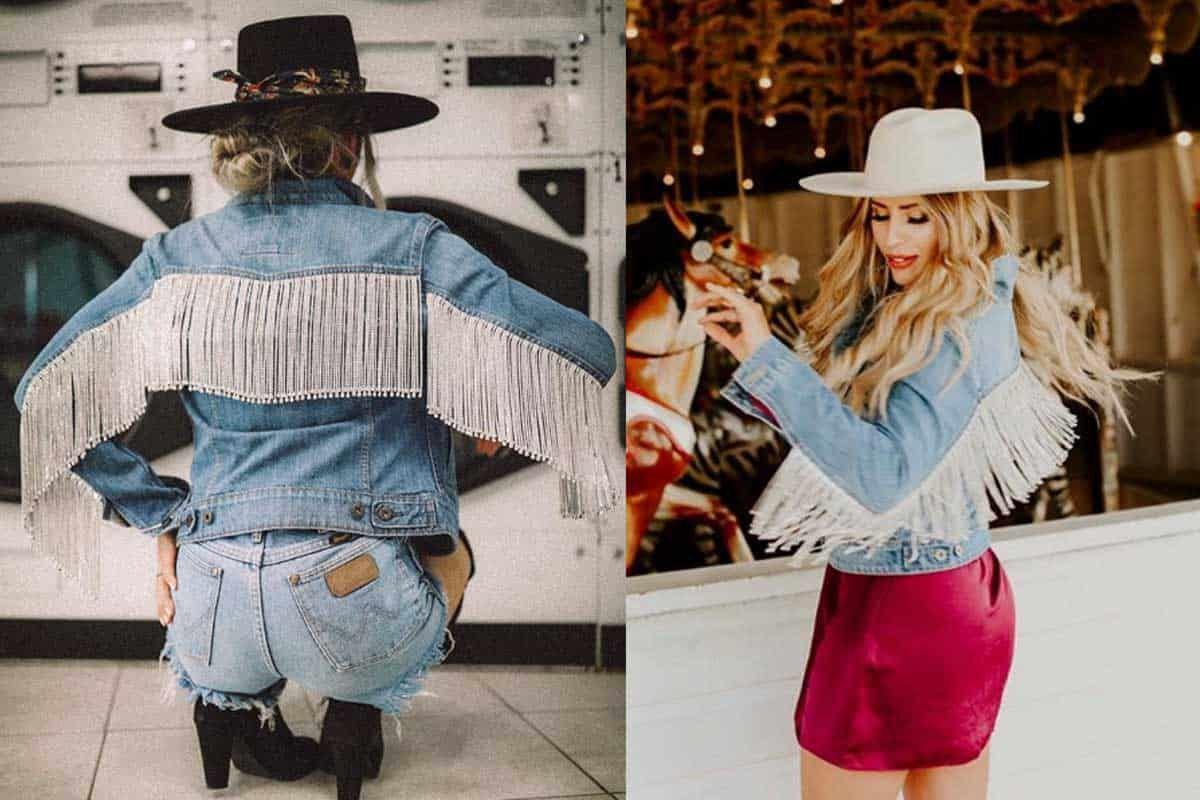 jean jacket denim jacket rock paper scissors denim cowgirl magazine