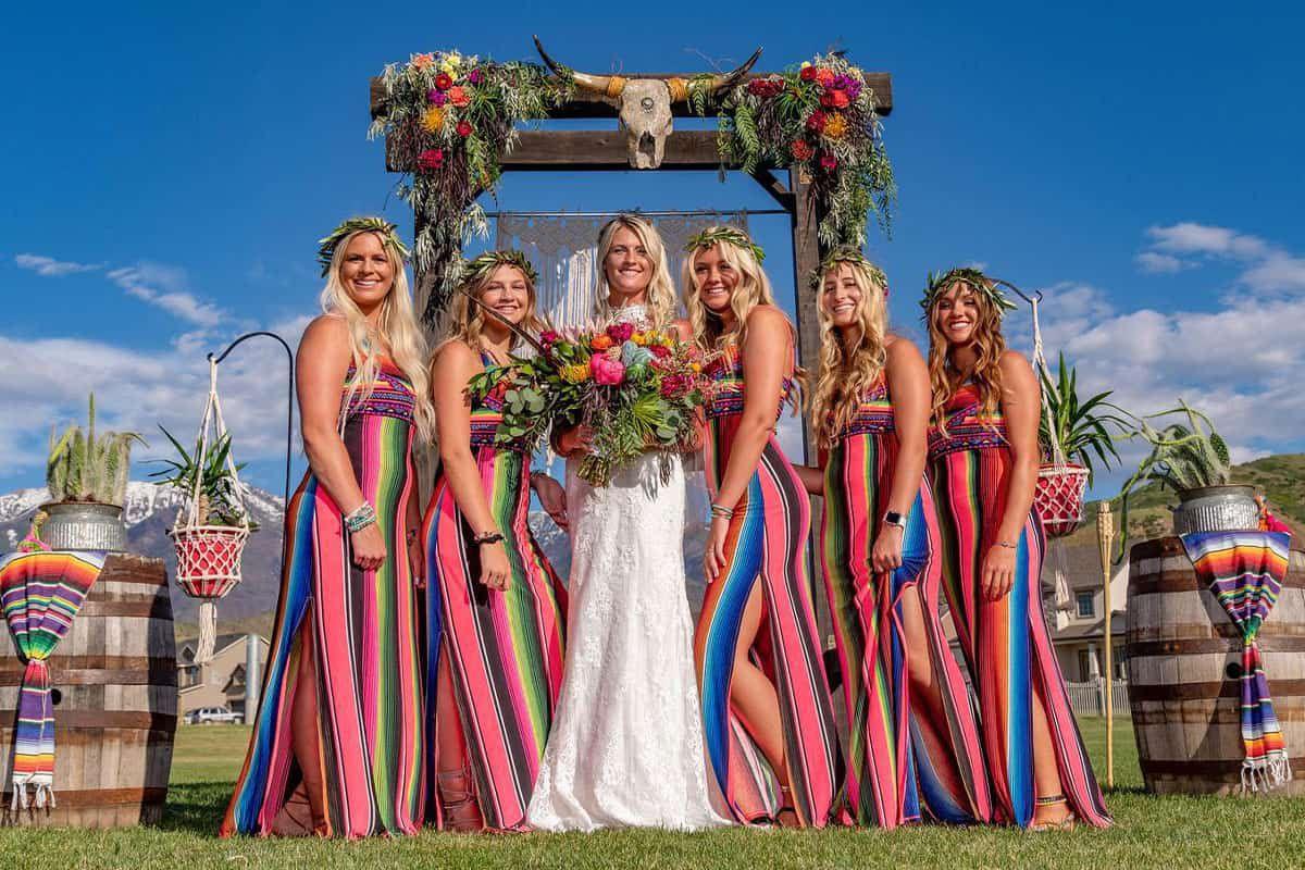 serape wedding cowgirl magazine
