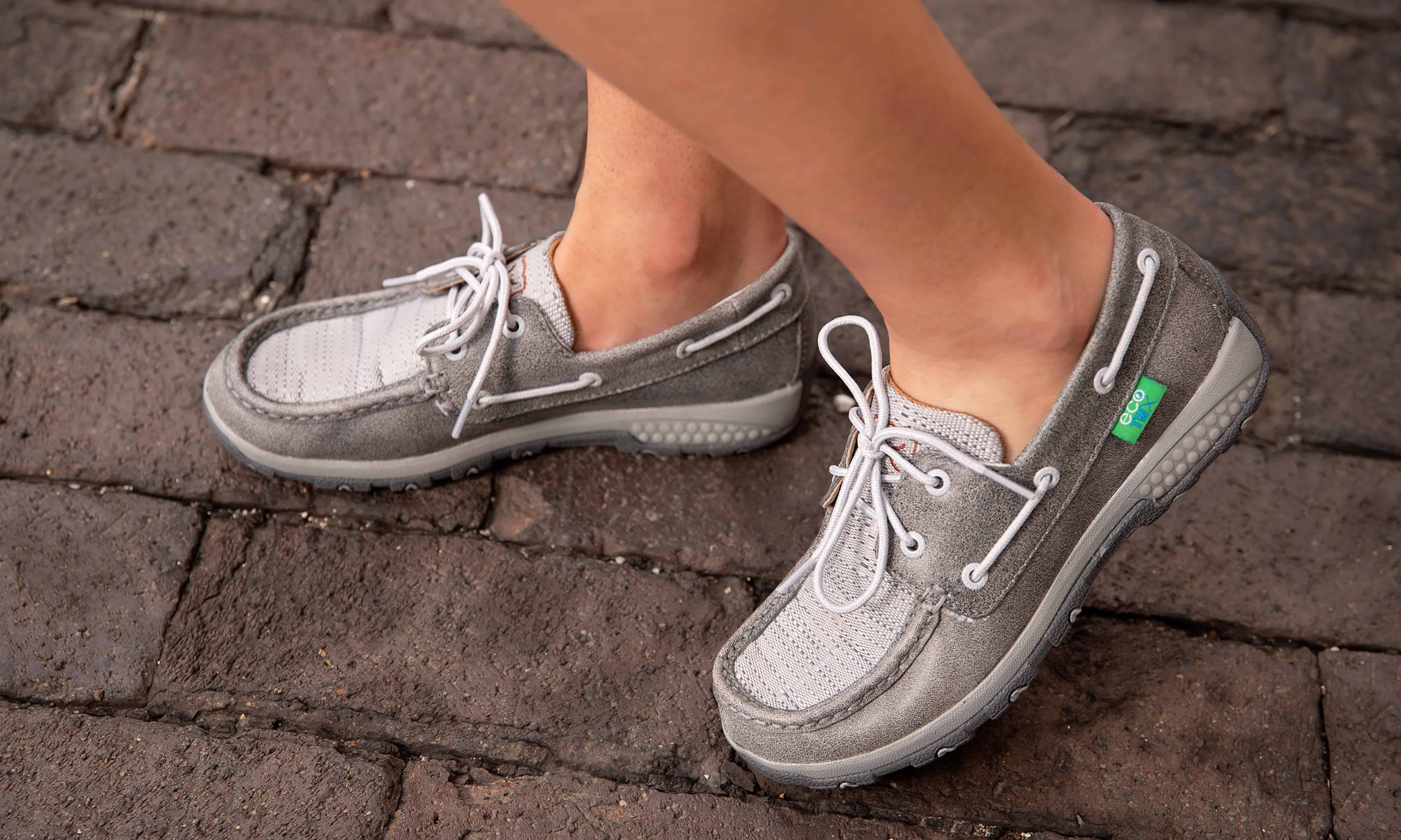 Women's Boat Shoe Driving Moc with CellStretch® twisted x