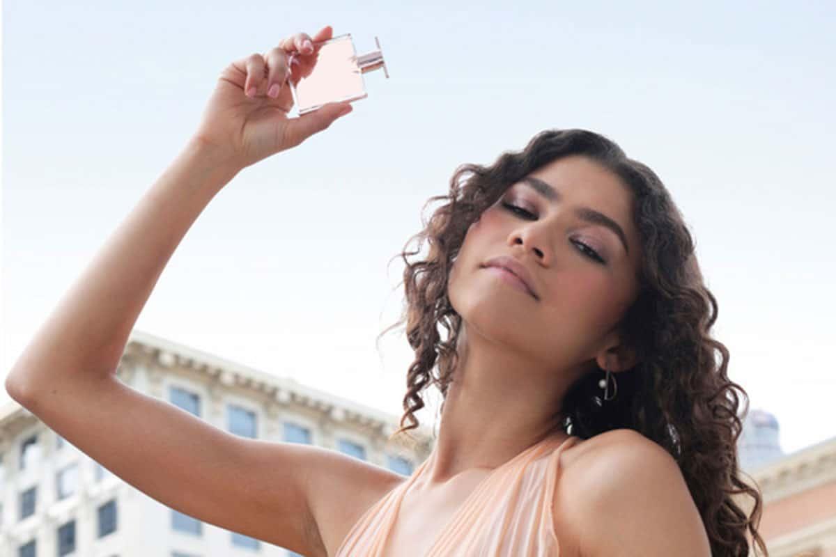 zendaya lancome idole perfume commerical cowgirl magazine