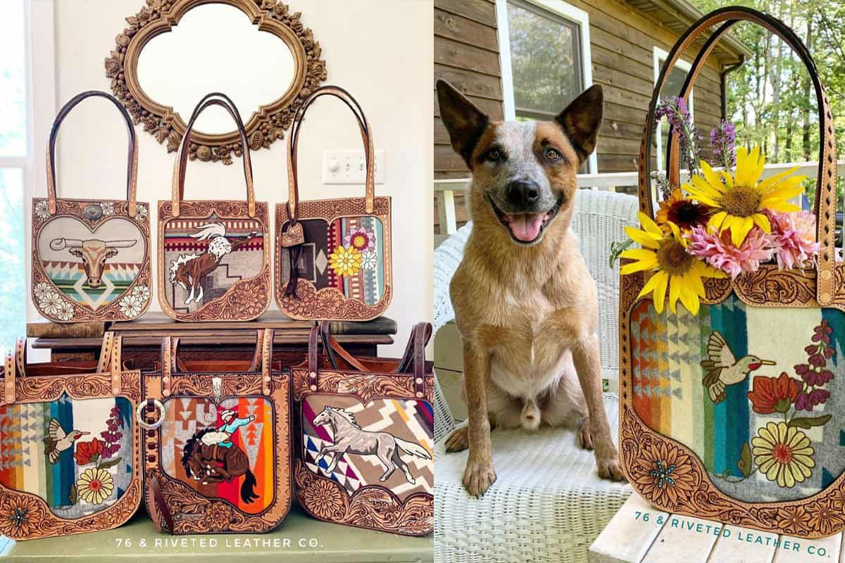 76 and riveted purse purse cowgirl magazine