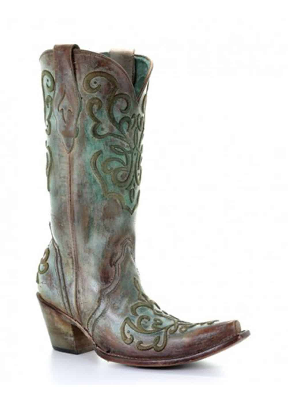 corral azul boot cowgirl magazine