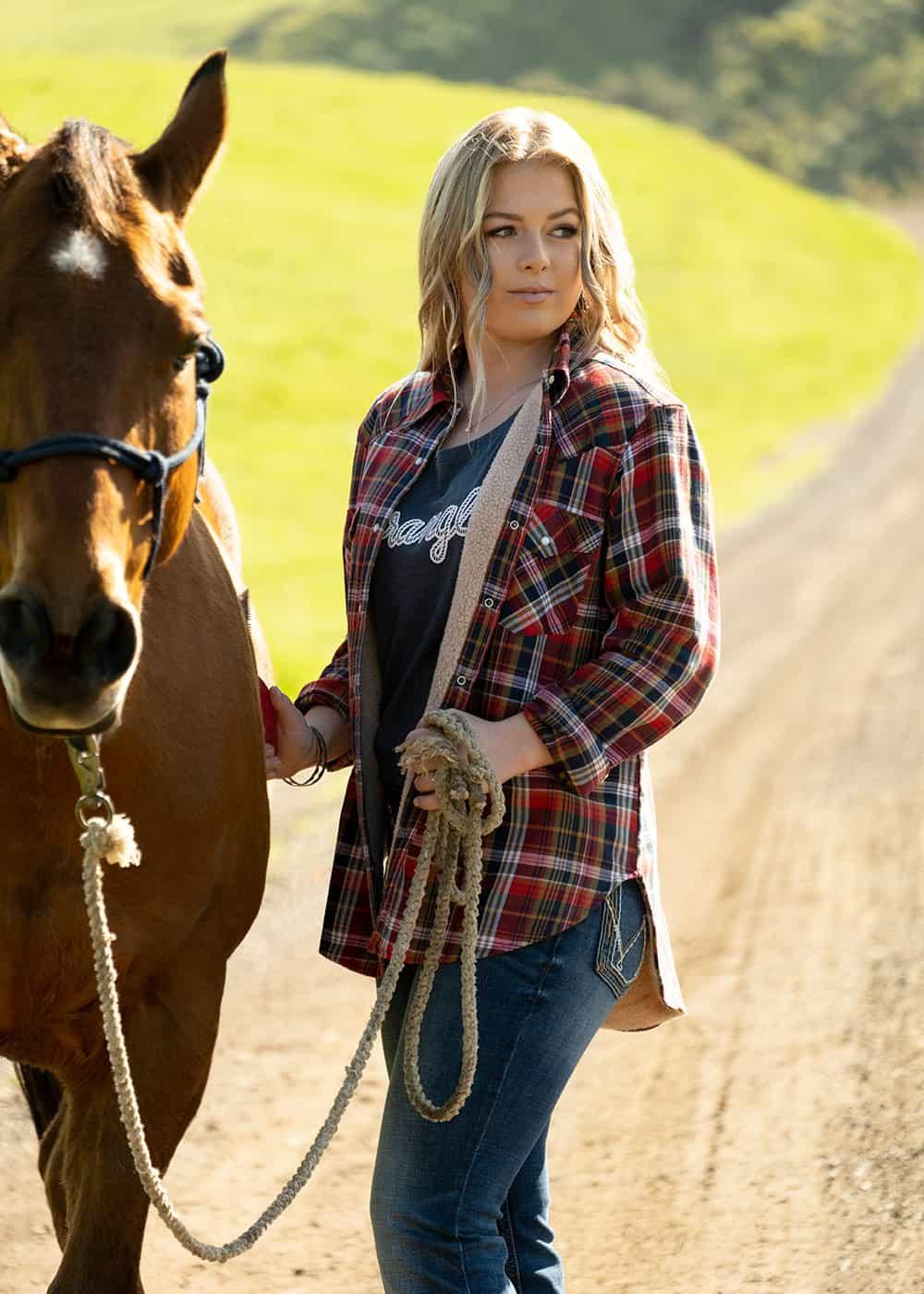 wrangler fall line cowgirl magazine