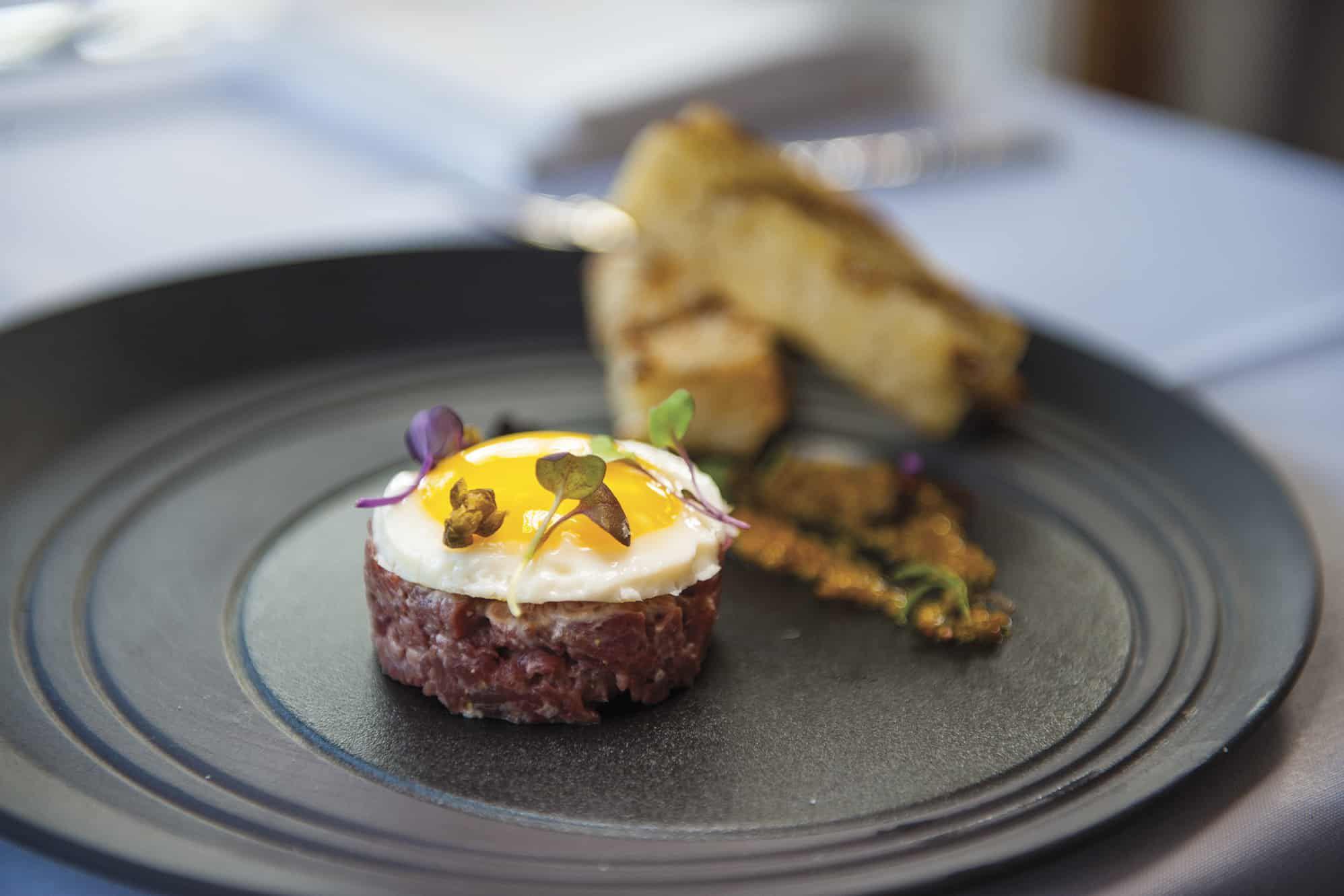 dining at L'Auberge de Sedona