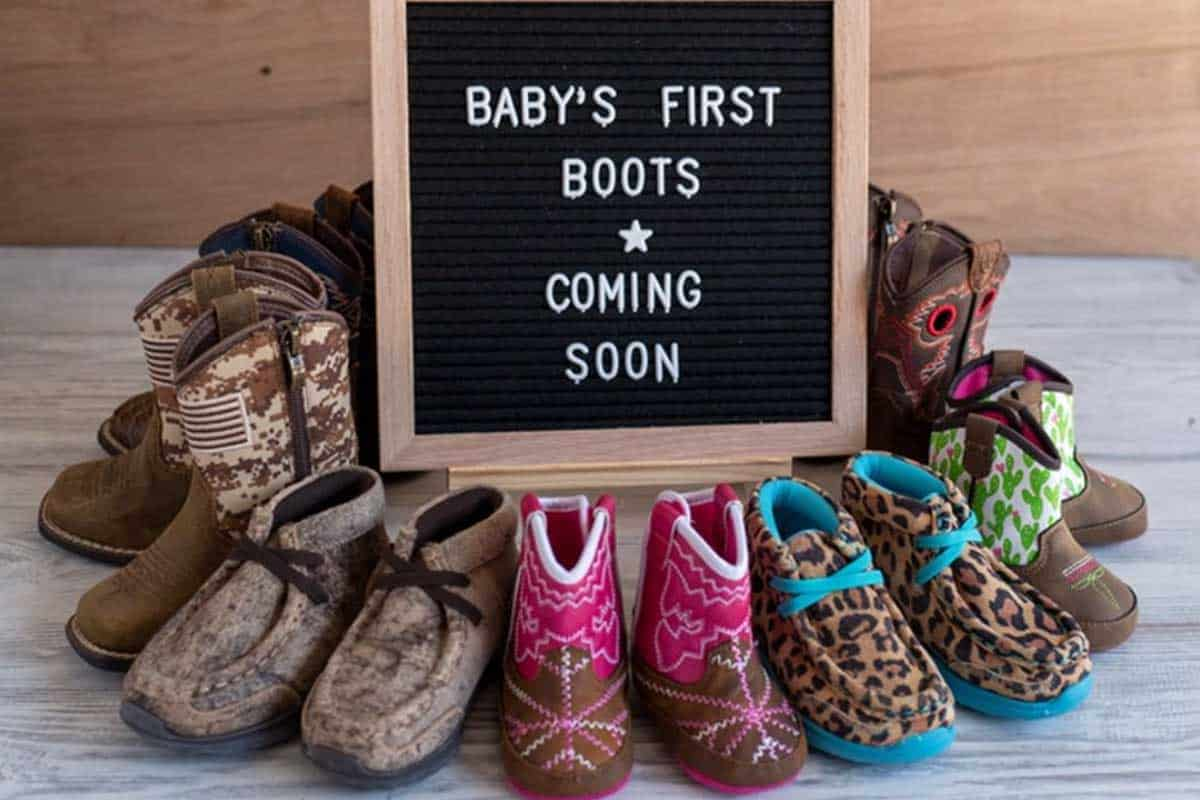 Ariat baby's first boots baby boots