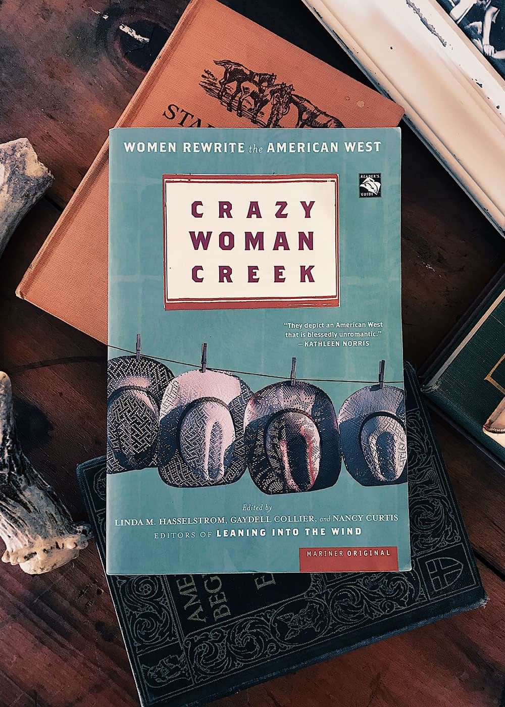 crazy woman creek book cover cowgirl magazine