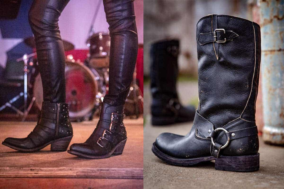 buckle buckles liberty black boots boot booties bootie cowgirl magazine