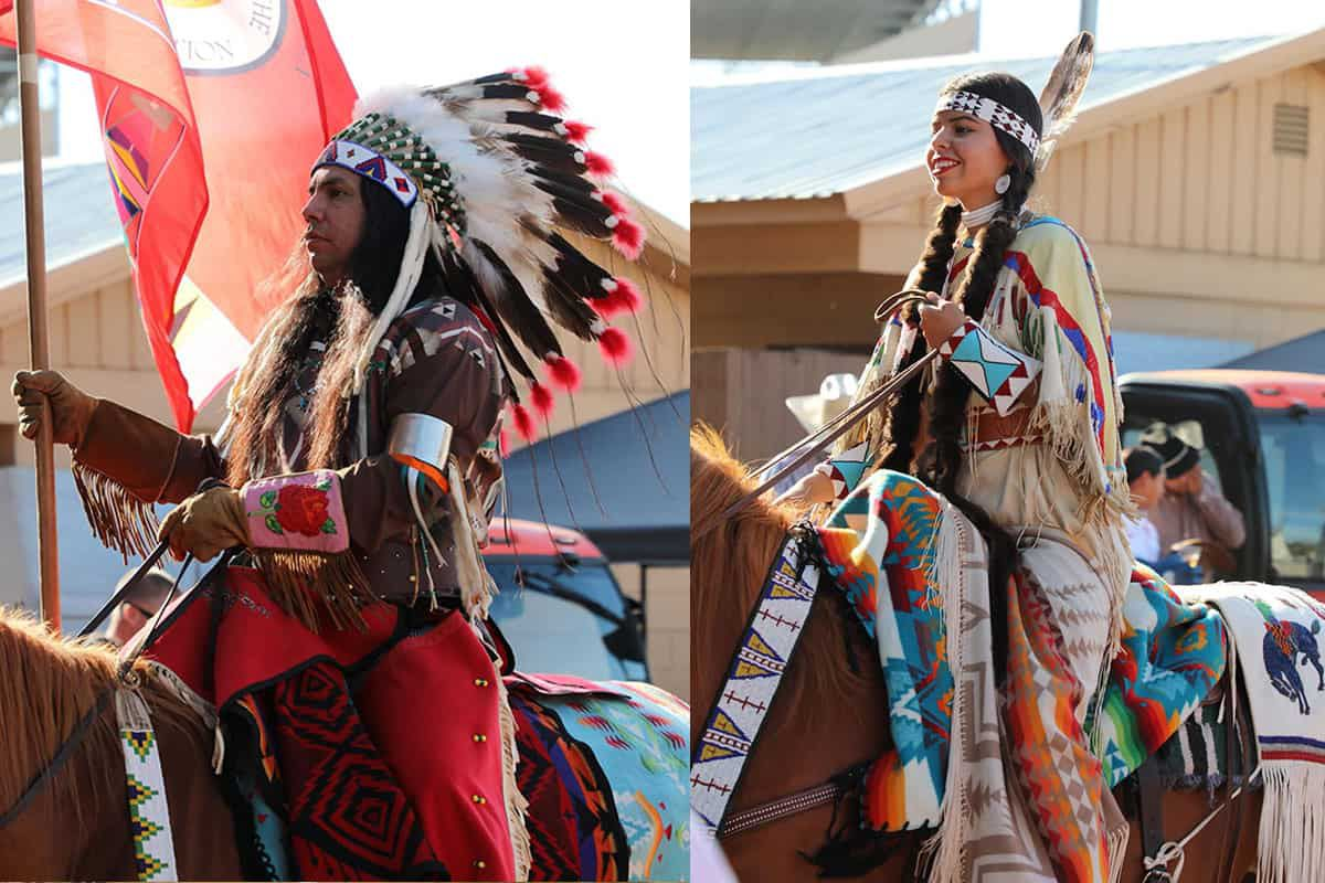 Pendleton native fashion cowgirl magazine fashion posse