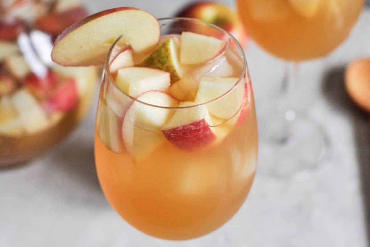 Apple Cider Sangria cowgirl magazine