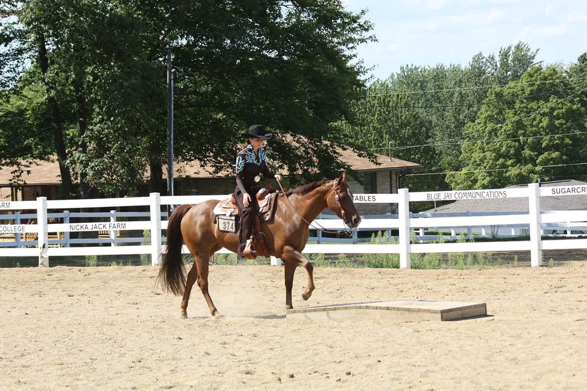 equestrian exercises cowgirl magazine