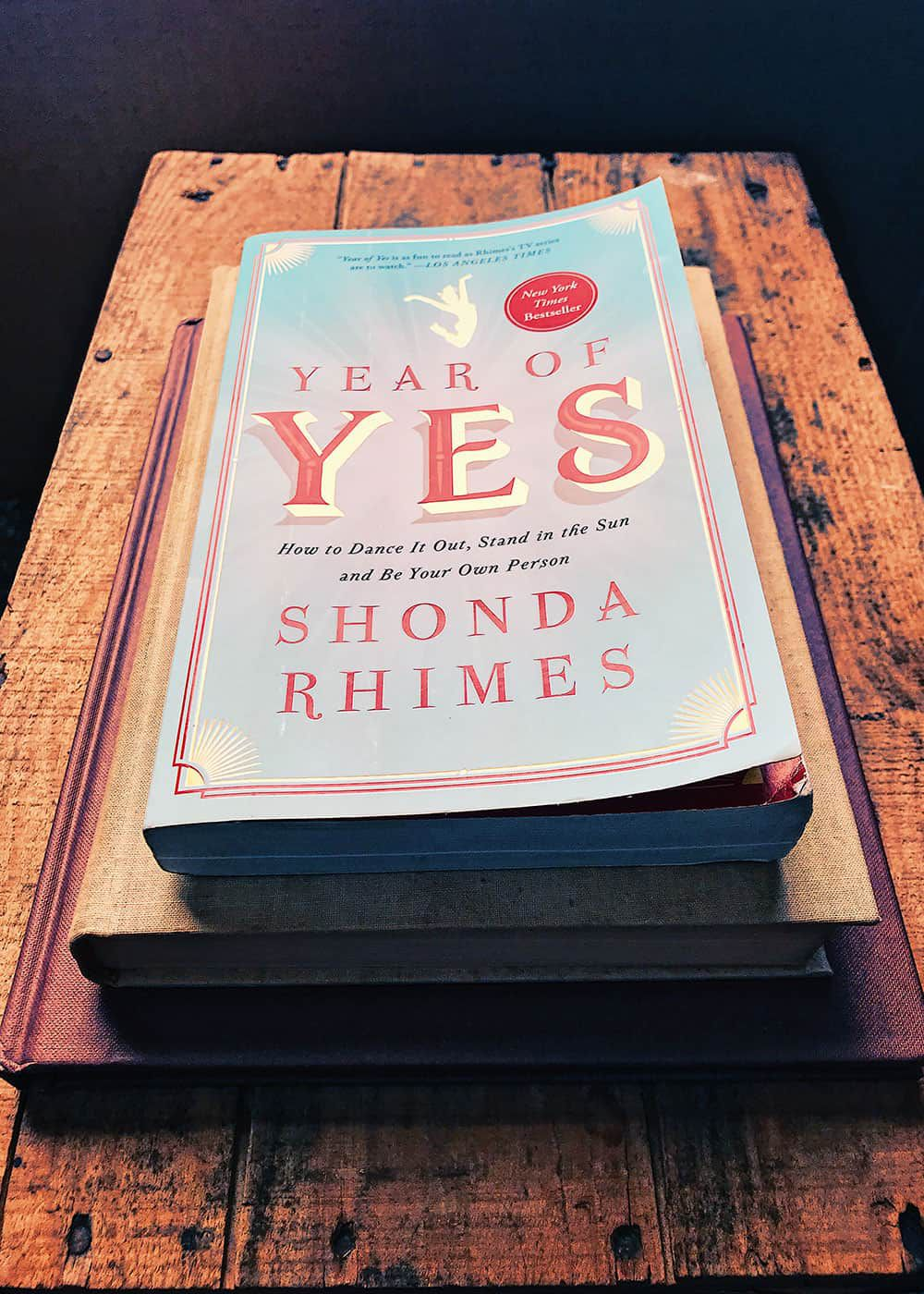 year of yes book cover shona rimes cowgirl magazine