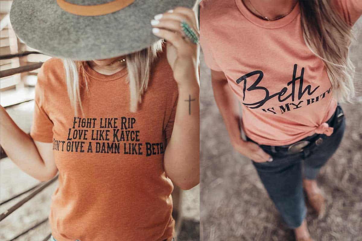 yellowstone shirts cowgirl magazine