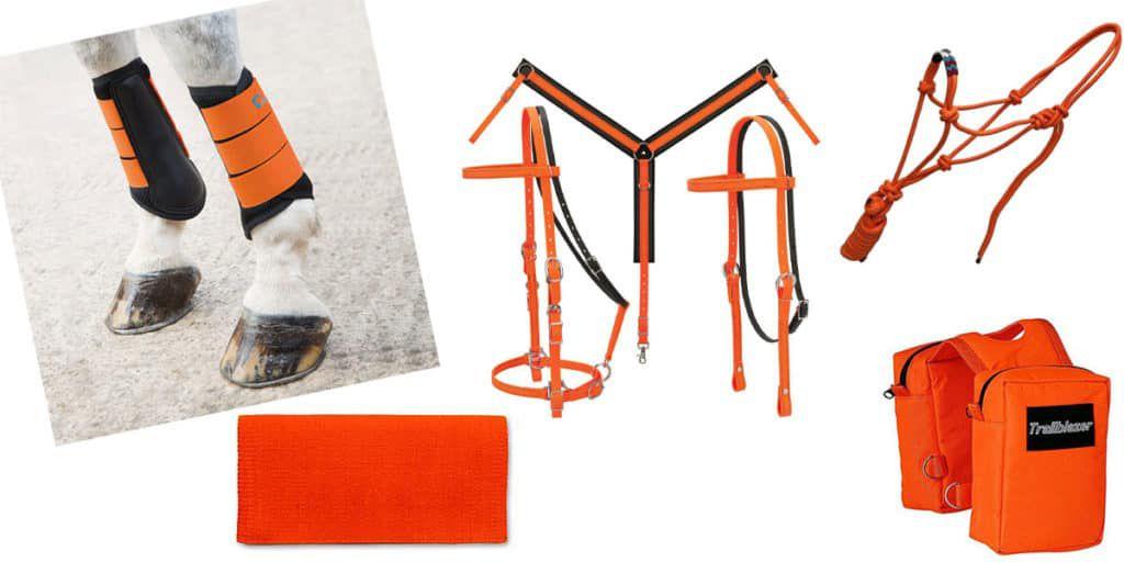 Orange tack cowgirl magazine