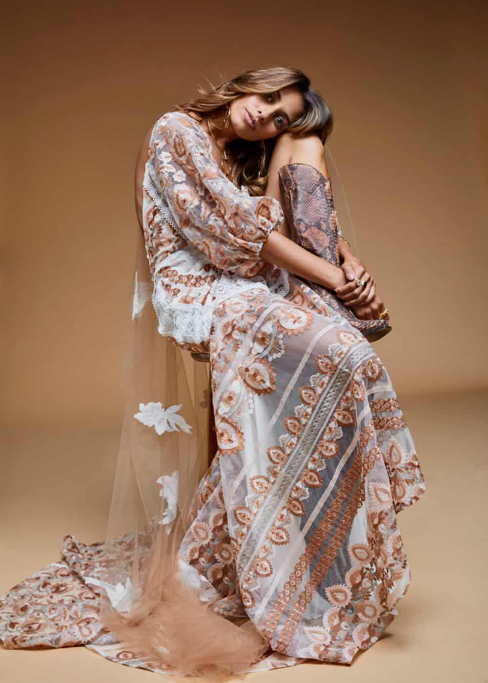 blush wedding dress cowgirl magazine