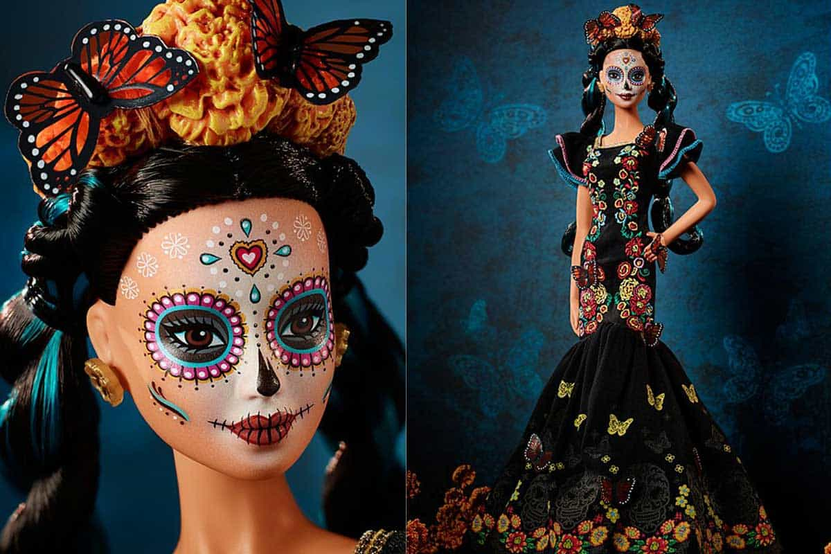 barbie day of the dead die de muertos Mattel cowgirl magazine
