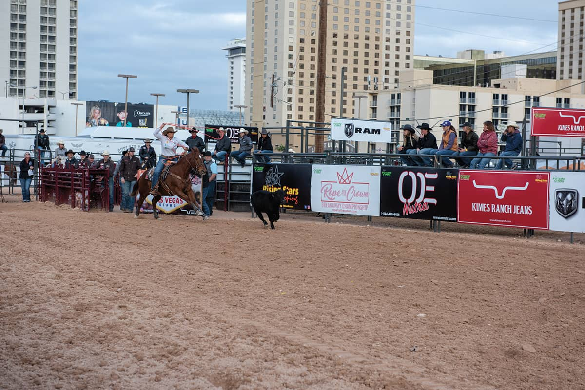 las vegas breakaway roping cowgirl magazine