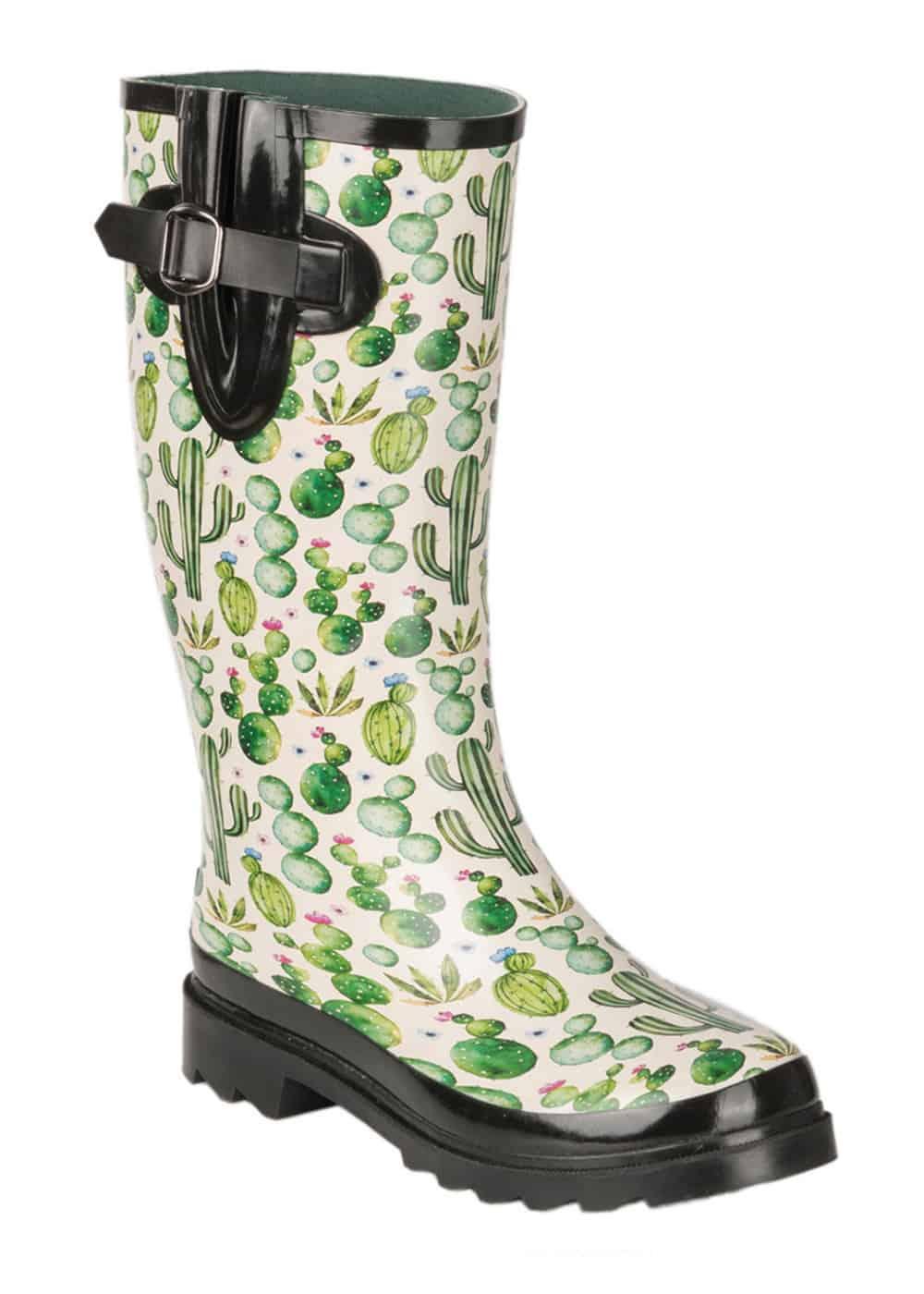 cactus rain boots cowgirl magazine