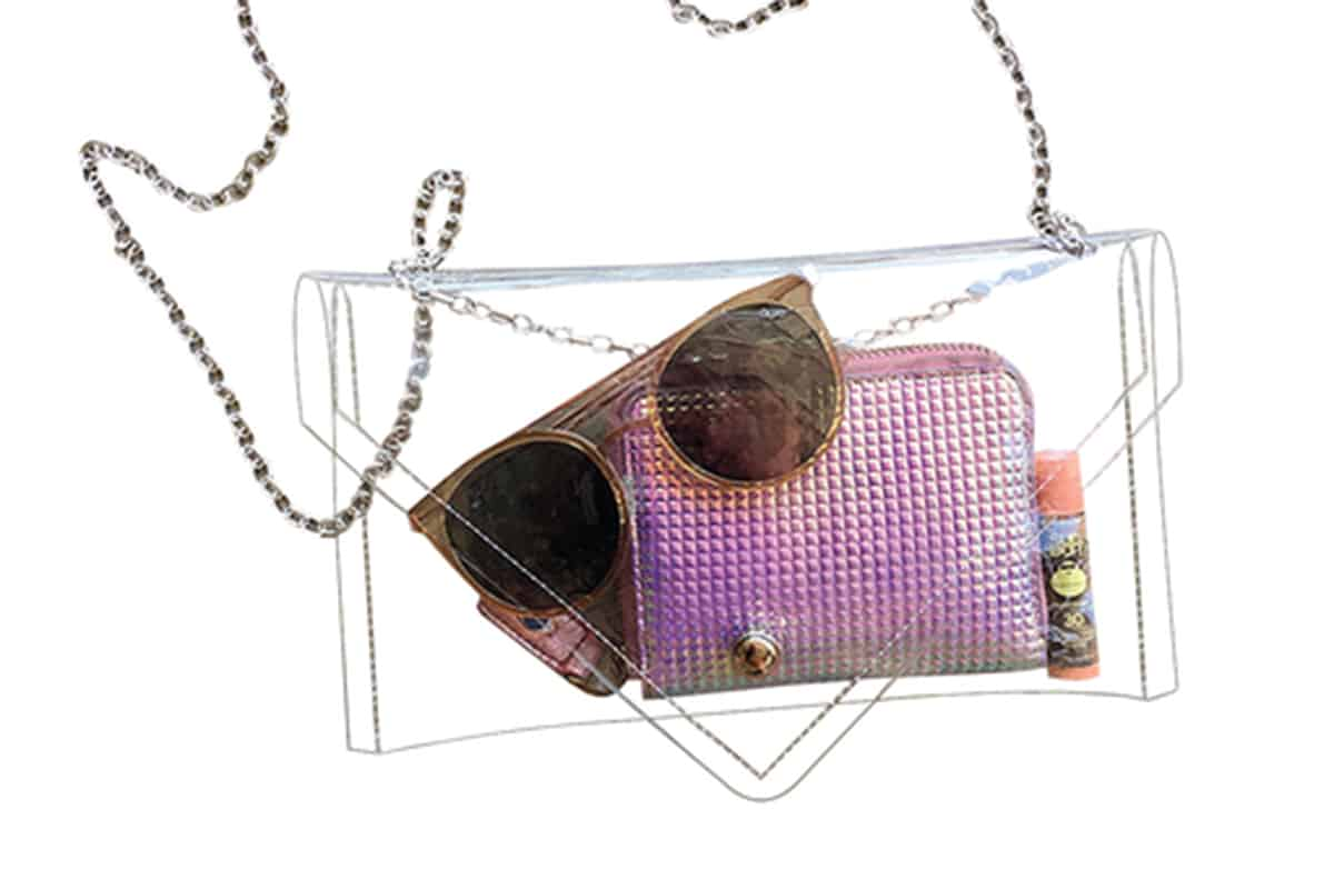 clear bags cowgirl magazine