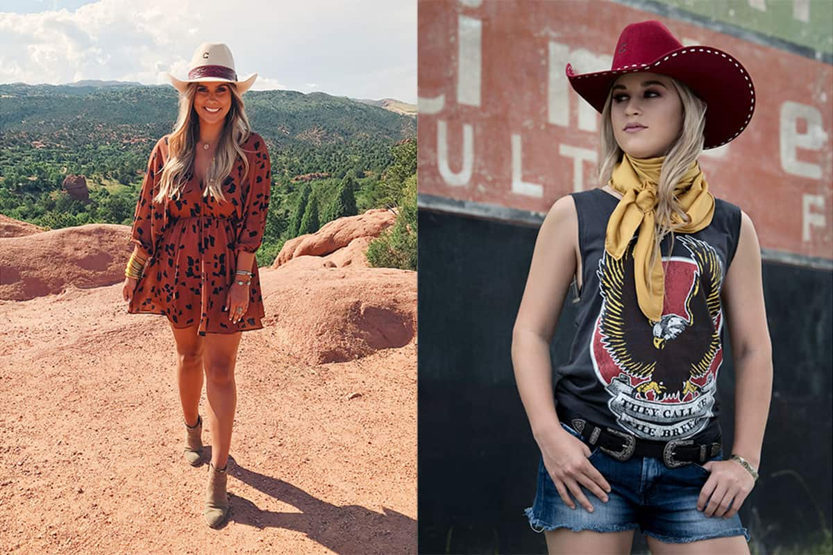 charlie 1 horse fall hats cowgirl magazine