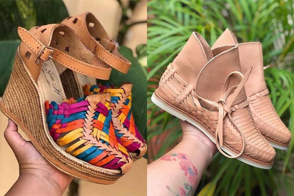 la perla Mexican huaraches cowgirl magazine footwear shoes sandal sandals