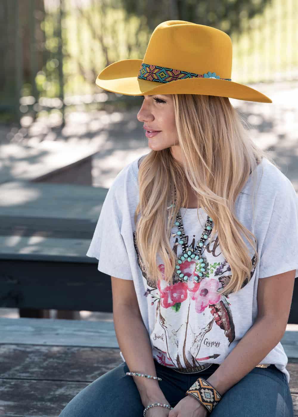 charlie 1 horse rain bird hat cowgirl magazine
