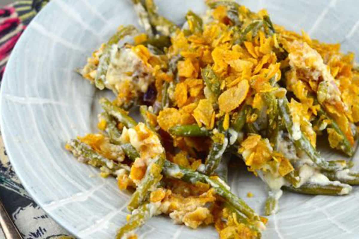 green bean casserole food recipe thanksgiving cowgirl magazine