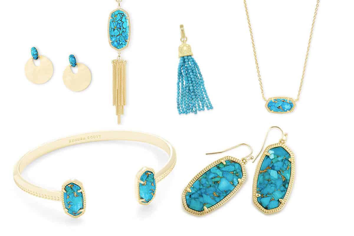 Kendra Scott turquoise jewelry cowgirl magazine