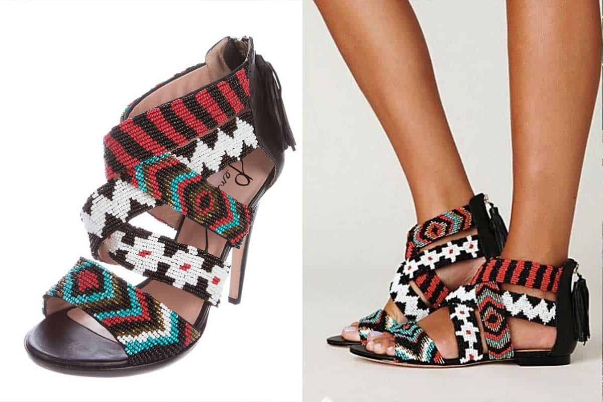 pencey caius tribal shoes cowgirl magazine